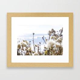Lost in fields Framed Art Print