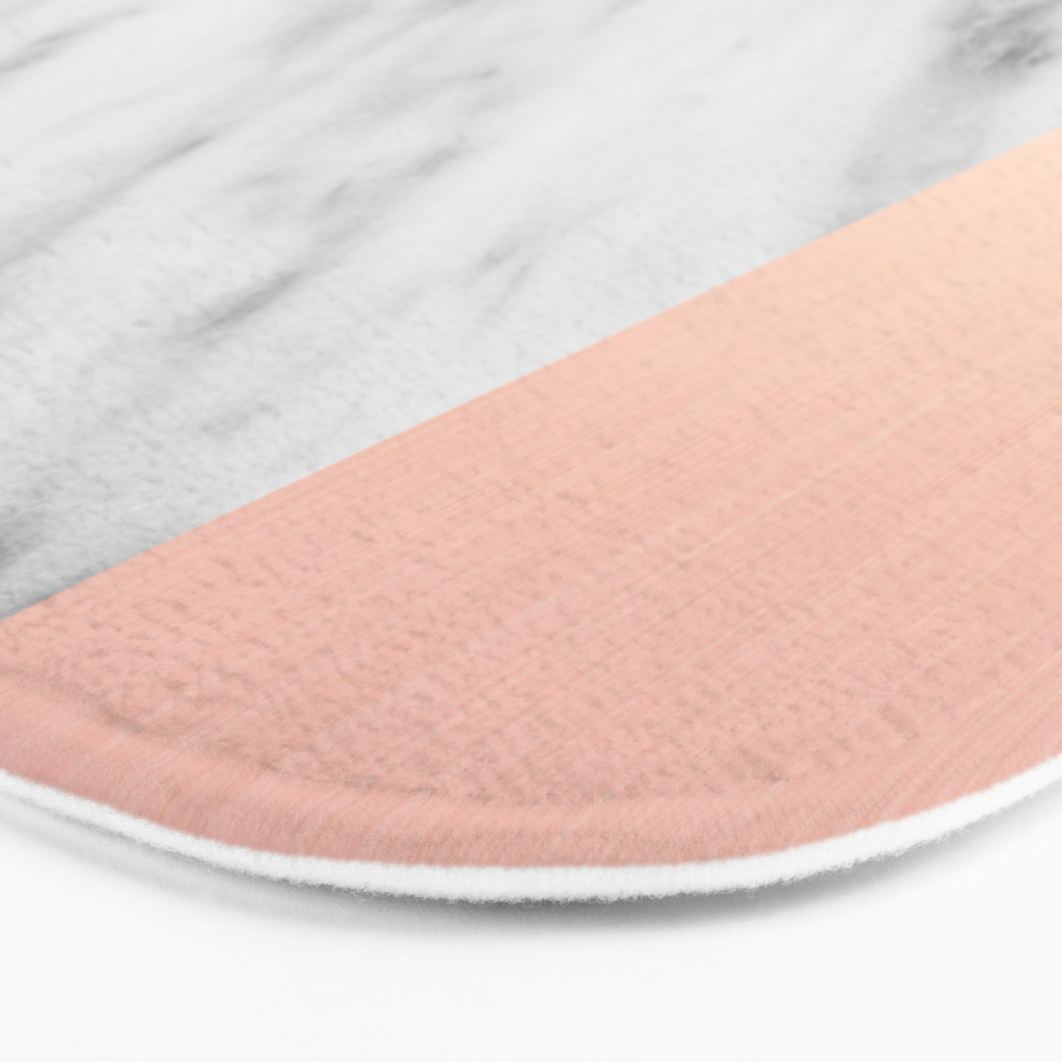 Real Italian Marble And Pink Bath Mat By Cafelab Society6