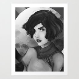 Kasumi Art Print