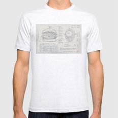 Refer to Fix'inz Schedule SMALL Mens Fitted Tee Ash Grey