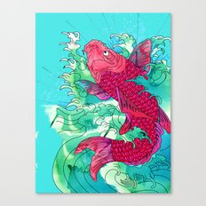 Lucky Koi Canvas Print