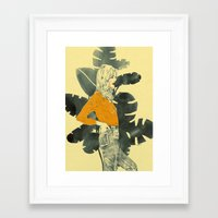 plants Framed Art Prints featuring Plants by Magdalena Pankiewicz