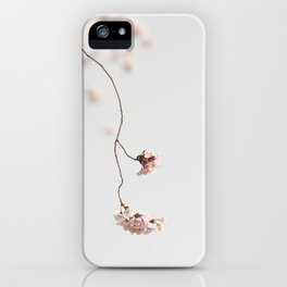 Spring drops iPhone Case