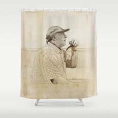 PIPE Shower Curtain