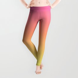 Bright Spring Gradient Leggings