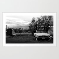 ford Art Prints featuring ford. by Susan Domain