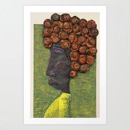 Juana la Cubana Art Print