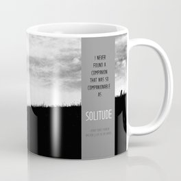 Henry David Thoreau - Solitude Coffee Mug