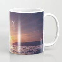 rowing Mugs featuring December by HappyMelvin