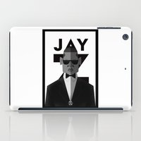 jay z iPad Cases featuring JAY-Z by olivier silven