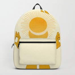Holding the Light Backpack