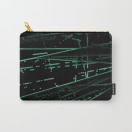 Neon Disco #8 Carry-All Pouch