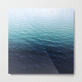 Maritime gradient Metal Print