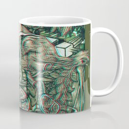 imaginations of mind 3D anaglyph Coffee Mug