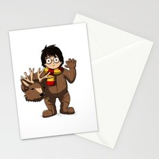Harry Cosplay Stationery Cards