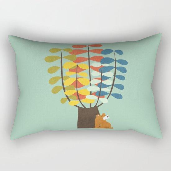 Shady Tree Rectangular Pillow