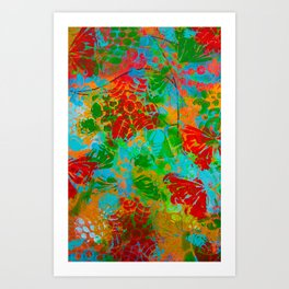 Butterflies and more Art Print