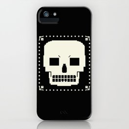 grrr skull. iPhone Case