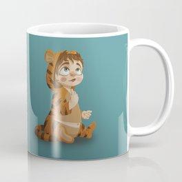 Tigger pajama girl Coffee Mug
