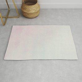 Pink Teal Modern Minimalist Abstract Art Rug