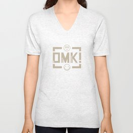 OMK! Ona Magulak Kraganing (Whatever) - Baige Unisex V-Neck