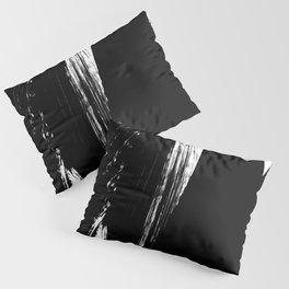 Monochrome Ink 02 Pillow Sham