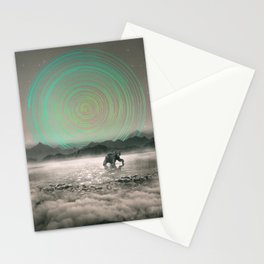 Spinning Out of Nothingness Stationery Cards