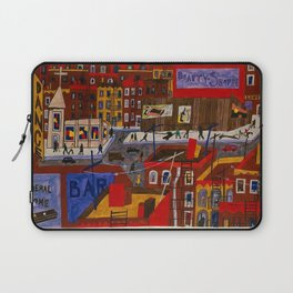 This is Harlem - African American Masterpiece by Jacob Lawrence Laptop Sleeve