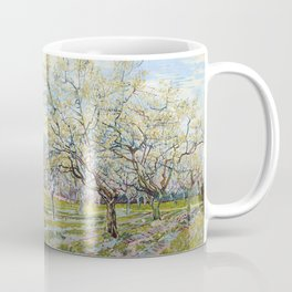 The White Orchard by Vincent van Gogh Coffee Mug