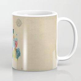 Michigan  state map  Coffee Mug