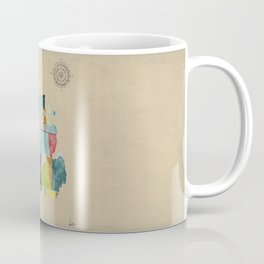 Michigan  state map  Coffee Mug