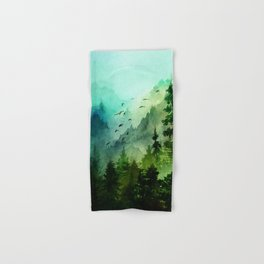 Mountain Morning Hand & Bath Towel