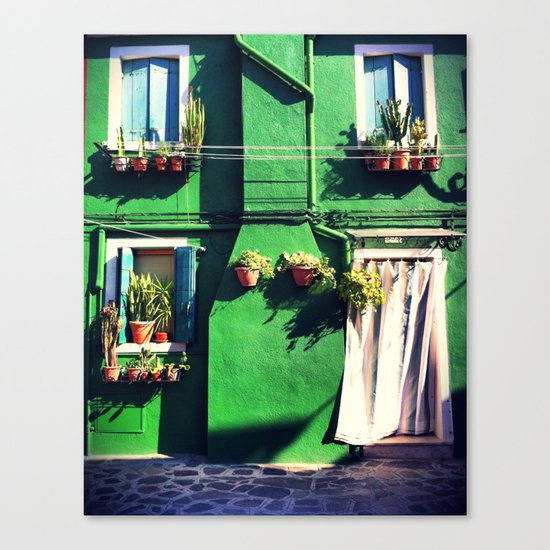 A Green life Canvas Print