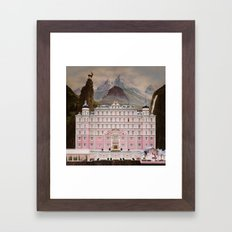 The Grand Budapest Framed Art Print