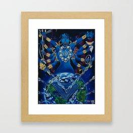 Kali Awakens Framed Art Print