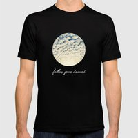 Clouds Effect MEDIUM Mens Fitted Tee Black