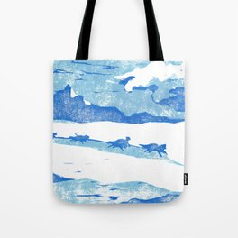 Iditarod Tote Bag
