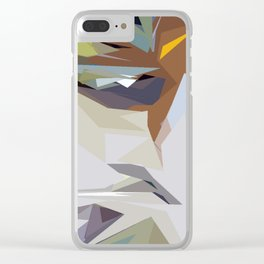 Abstracto16 Clear iPhone Case