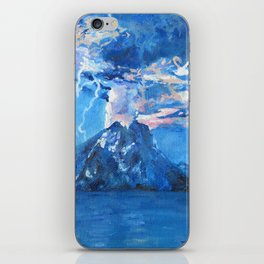 Volcanic lightning iPhone Skin