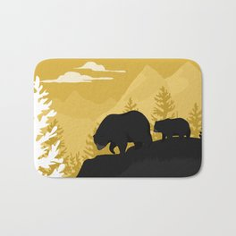 Bear Valley Bath Mat