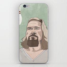 Lebowski iPhone Skin