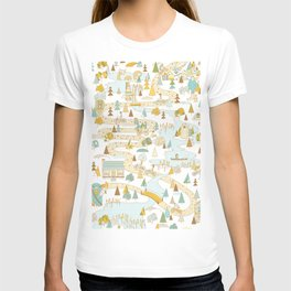 Over the River and Through the Woods T-shirt