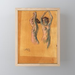 Nude Studies - Arthur Bowen Davies Framed Mini Art Print