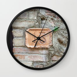 13 - Old World Door Wall Clock