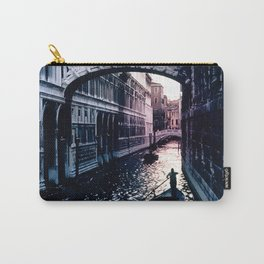 Gondola in Venice Canal At End of Day Carry-All Pouch