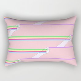 Feminist power pattern Rectangular Pillow