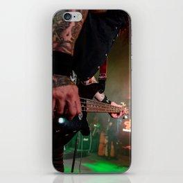 Bassic Black iPhone Skin