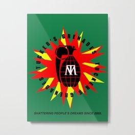 Tucker's Grenades Metal Print