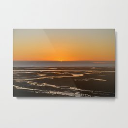 Sunrise over Golden Bay Metal Print