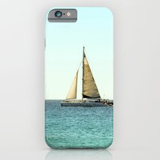 Sail Away with Me - Ocean, Sea, Blue Sky and Summer Sun iPhone 6s Slim Case